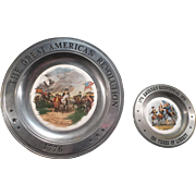 The Great American Revolution & America's Bicentennial Pewter Plates
