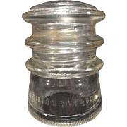 Hemingray No. 10 Telephone Exchange Insulator