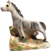 Vintage Carnival Chalkware Pony - 1945