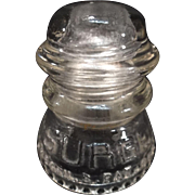 SURGE Glass Insulator by Babson Bros. Co.