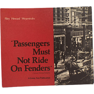 Passengers Must Not Ride On Fenders (Illustrated Hardcover) by Mike FIley-Illustrated Edition-1974