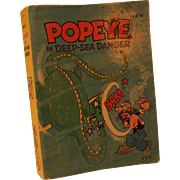 Popeye in deep-sea danger (A big little book) Paperback – 1980 by Paul S Newman