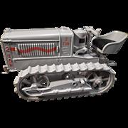 Die Cast Ertl Caterpillar 2 Ton Crawler Tractor; 1/16 scale; NTTC Show, Iowa