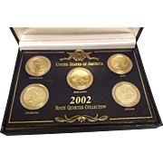 2002 State Quarter Collection in Case