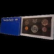 1970-S, U.S. Mint Proof Set of Coins in Original Lucite case