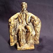 Carnival Chalkware President Abraham Lincoln