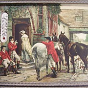 Fox Hunters at English Pub Print