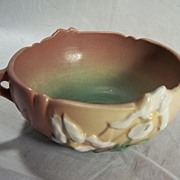 Roseville Pottery Co. Iris Pink Bowl - No. 359-5
