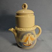 Porcelier Vitreous China Drip-o-lator Coffee Pot