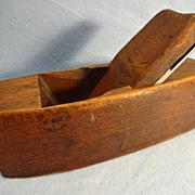 Wooden Smoothing Plane, Hardwood, Coffin shaped