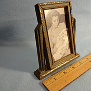 Vintage Miniature Swivel Picture Frame