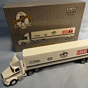 Die Cast J I Case 150 Year Commemorative Edition Tractor Trailer--1/64 scale