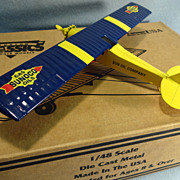 Spirit of St. Louis die cast airplane model - Sunoco