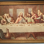 Vintage print - The Lord's Supper - by Brunozetti