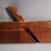 "Round 1 1/4"" Wood Moulding plane  stamped L. & I. J. White, Buffalo, c. 1850"