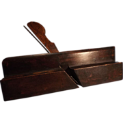 Ovolo Boxed Wooden Moulding Plane--Wm. MOSS--Woodworking Tool
