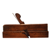 Vintage Wooden Round Bottom plane-Woodworking Tool-Shoreditoh