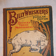 Billy Whiskers, Children's Book, by Author Frances Trego Montgomery, 1902