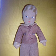 Vintage Madame Alexander Cloth Doll