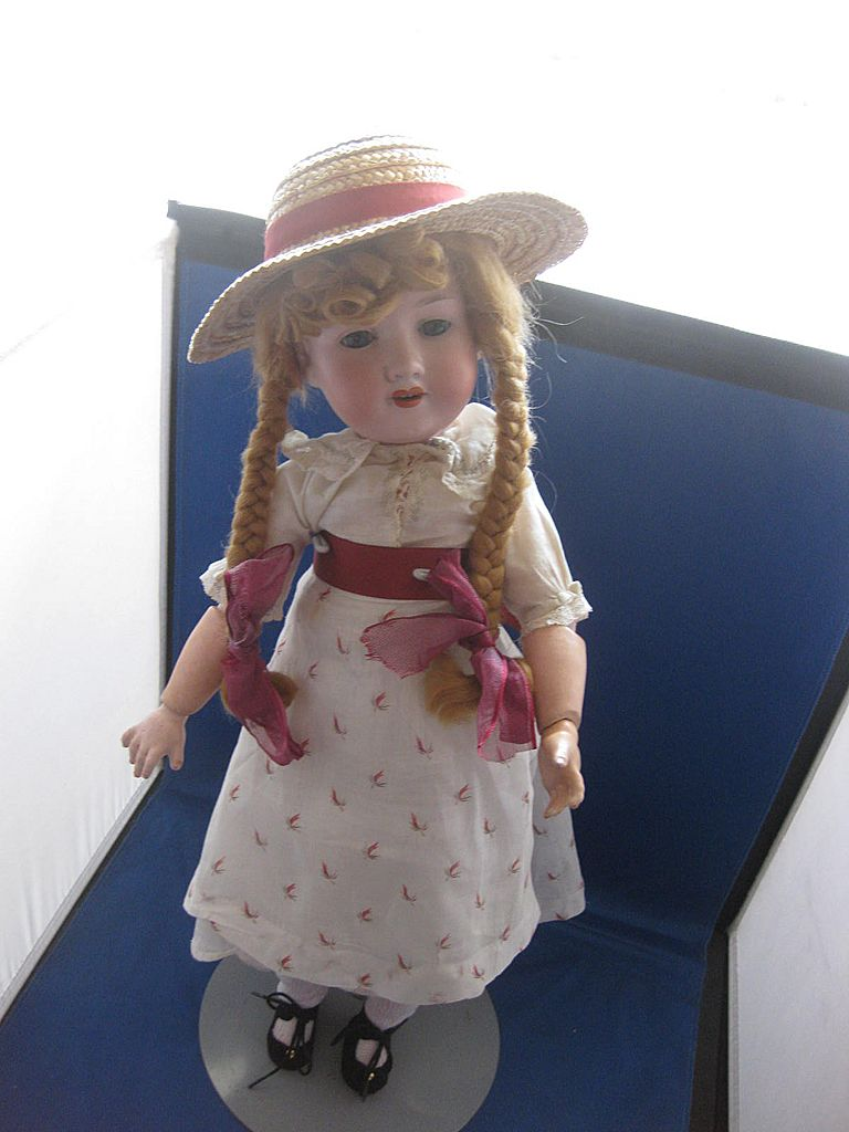 German Bisque Doll  Armand Marseille Doll