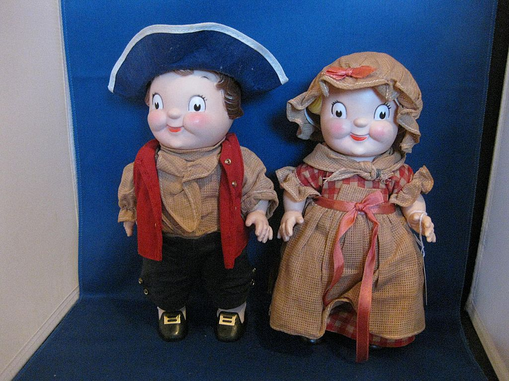 Campbell Kid's Vinyl Dolls