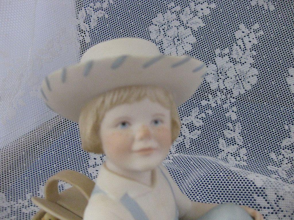 "Porcelain Cybis  Figurine ""Little Jamie"""