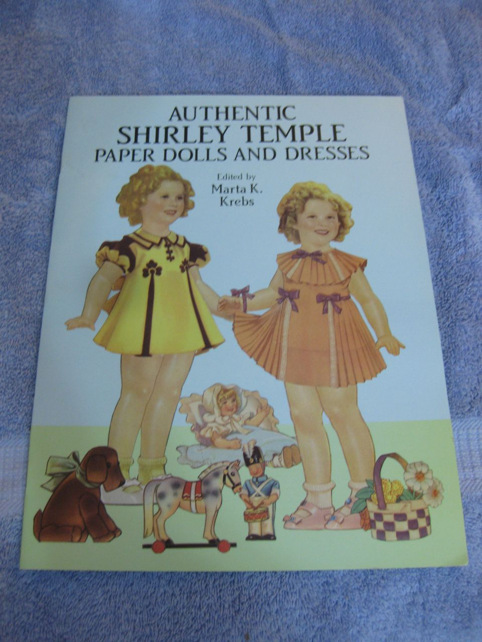 Original Shirley Temple Paper Dolls in full color,Classic Shirley Temple Paper Dolls in full color,   Authentic Shirley Temple Paper Dolls and Dresses