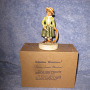 "Sebastian Miniature ""Games in the Springtime"""