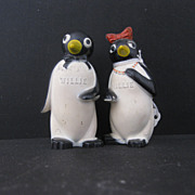 Willie and Millie Salt & Pepper Shakers