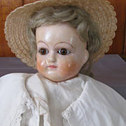 Wax over Papier Mache Doll