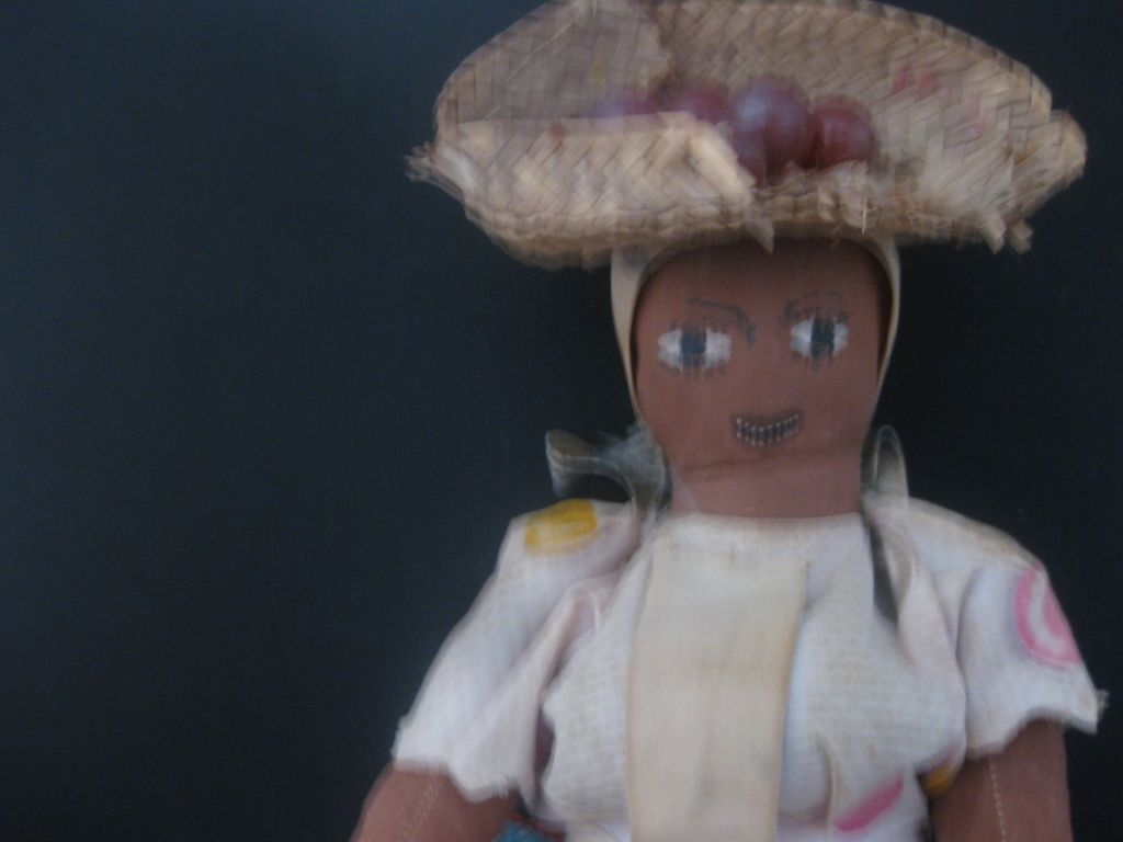 Vintage Black Cloth Doll  from Jamaica