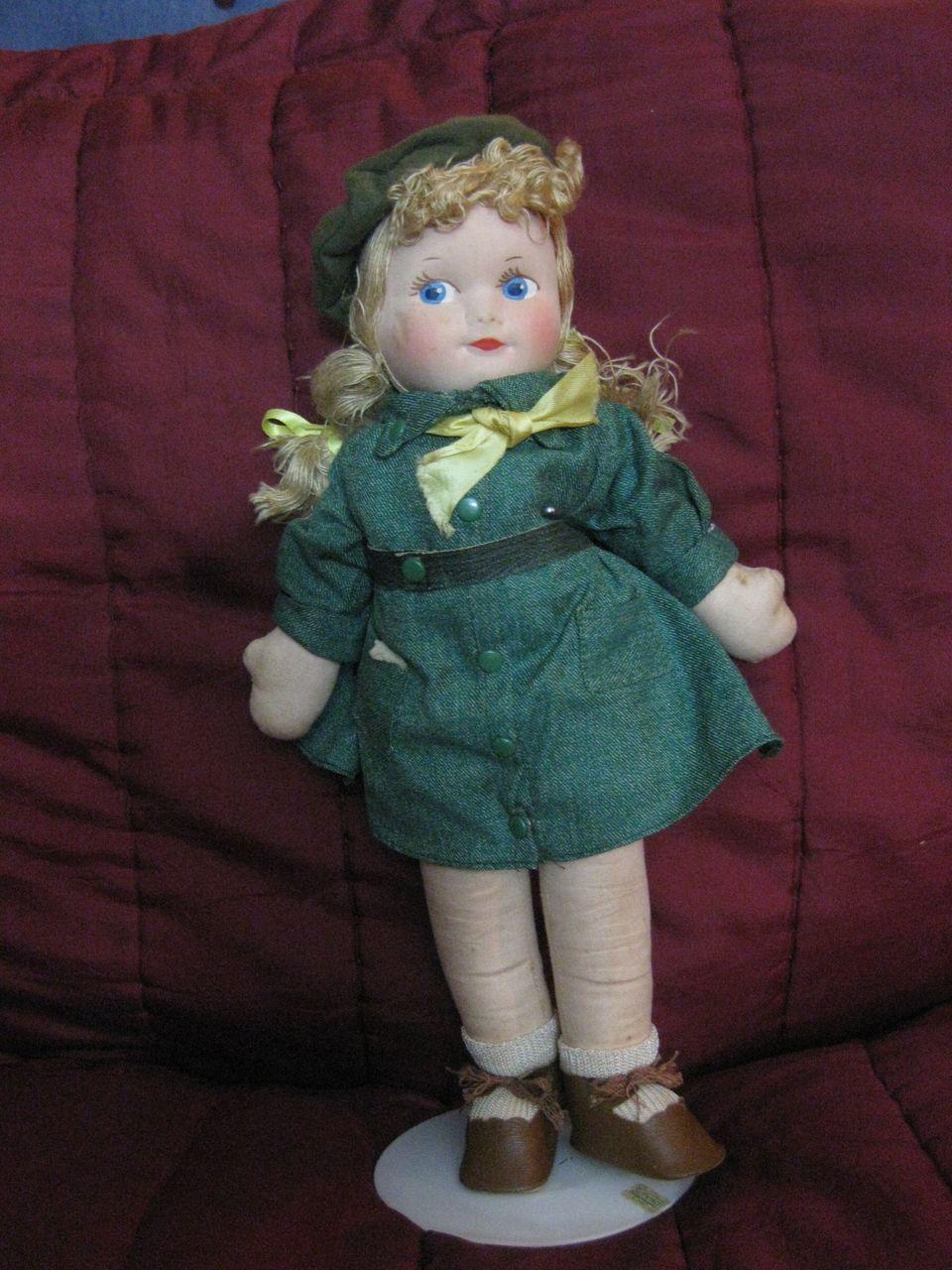 "Georgene Novelties  ""Girl Scout"" Doll"