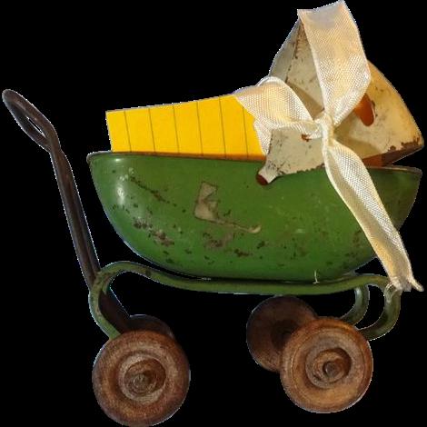 Miniature Metal  Carriage
