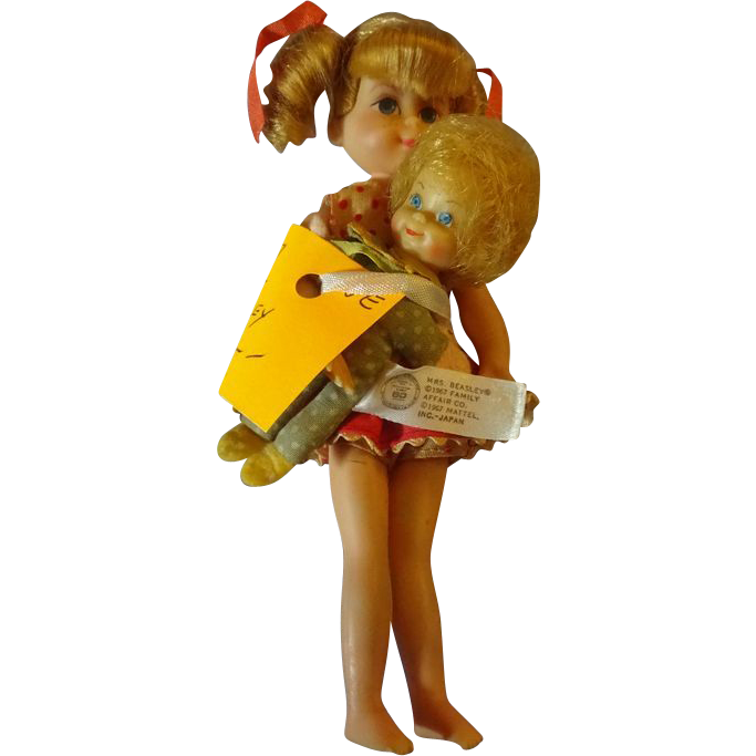 Buffy and Mrs. Beasley Doll from 1967