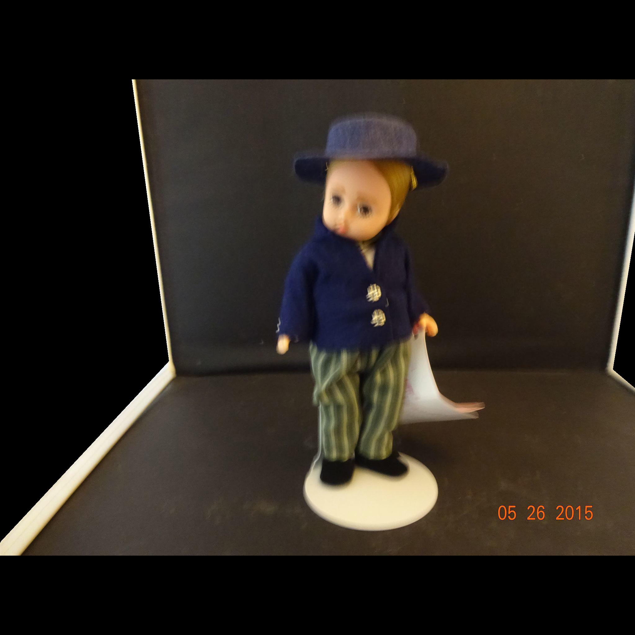 """Madame Alexander Vinyl Doll """"Matthew"""""""