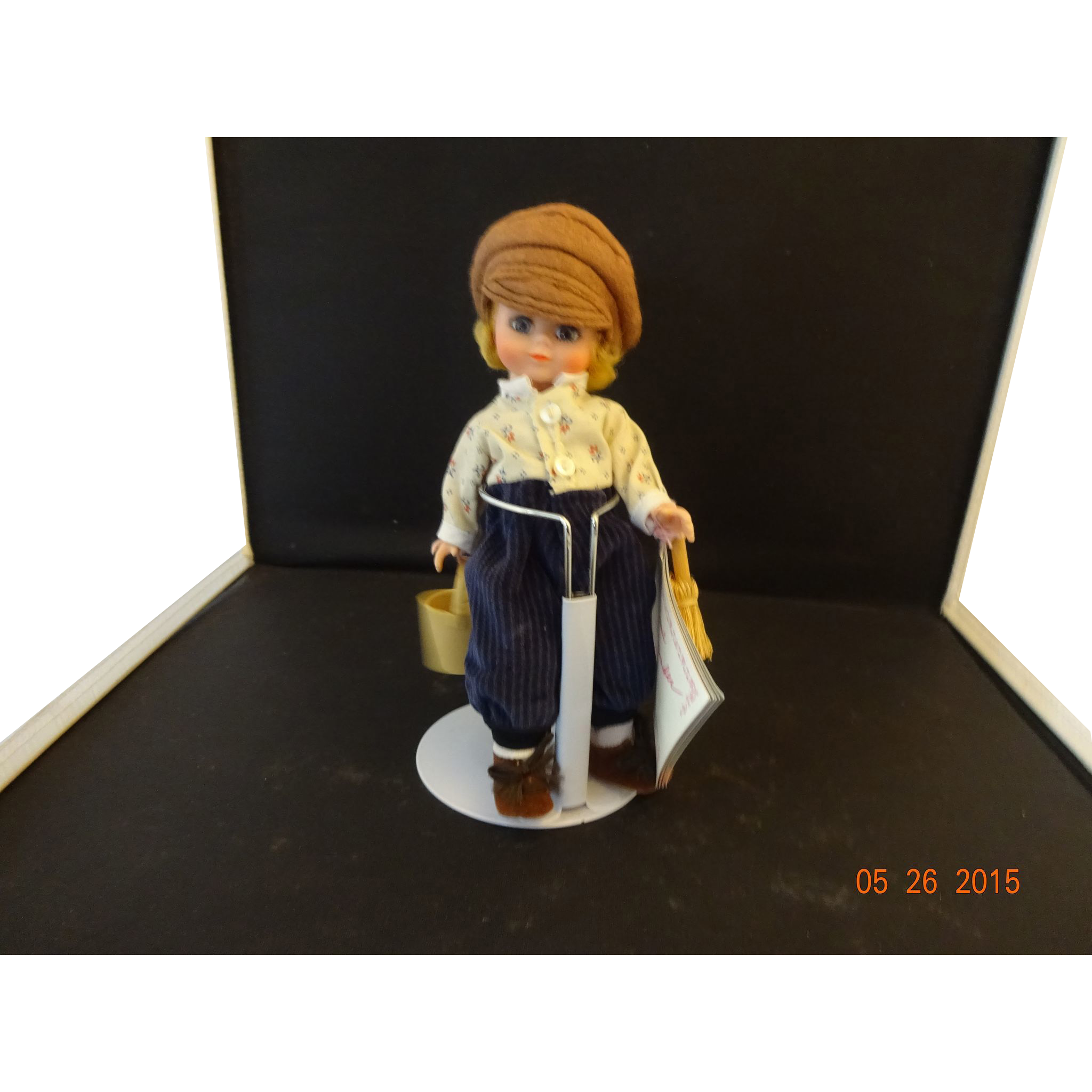 "Madame Alexander Vinyl Doll ""Tom Sawyer"""