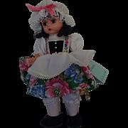 """Madame Alexander Vinyl Doll """"Little Miss Muffet"""""""
