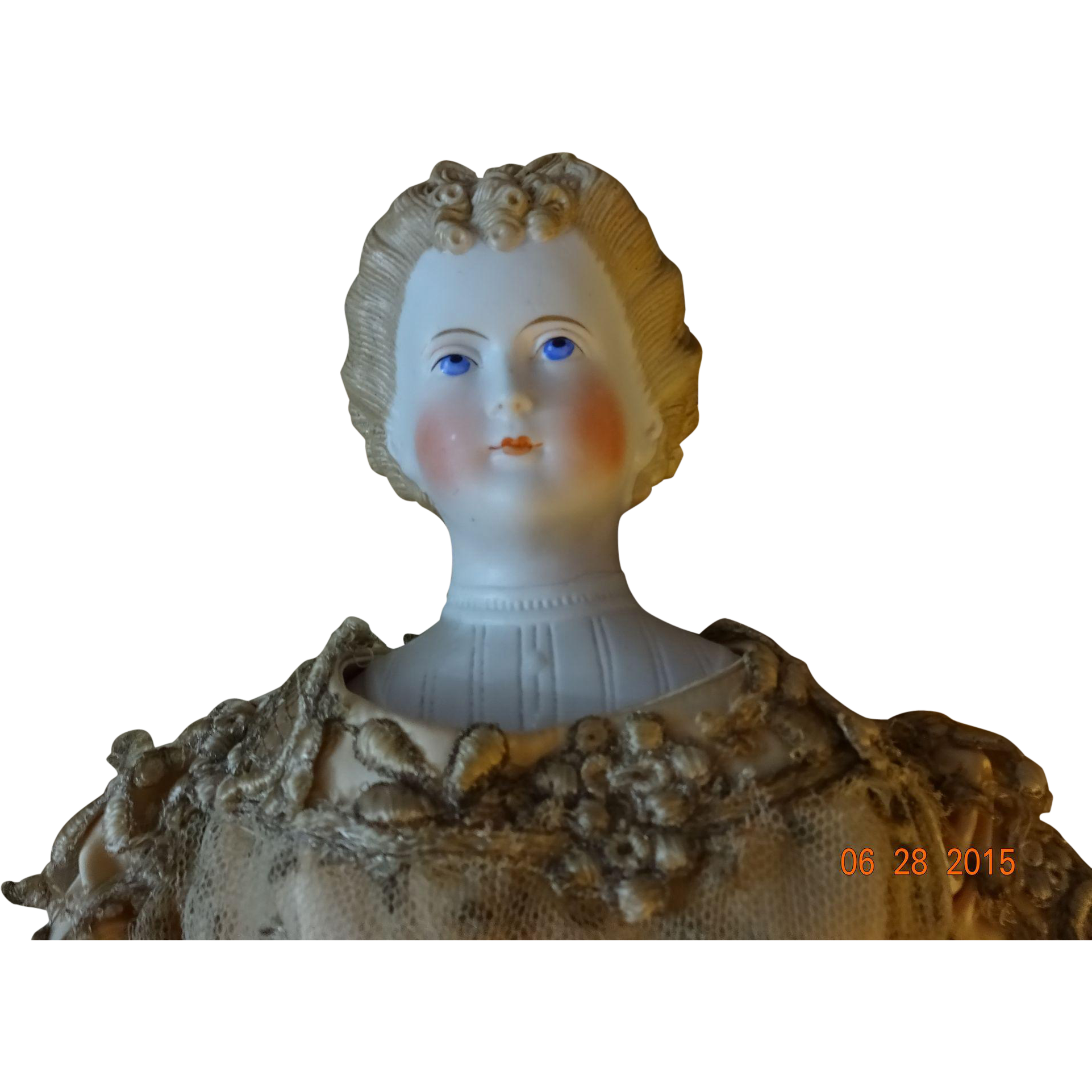 """Countess Dagmar""  Parian Doll"