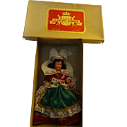 Celluloid French  Doll in Original Box
