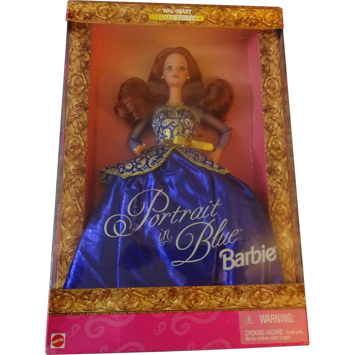 "Walmart Special Edition  ""Portrait in Blue  Barbie"""