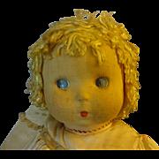 "Madame Alexander  Cloth Doll ""SoLite"""