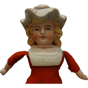 German Bonnet Head Bisque Doll