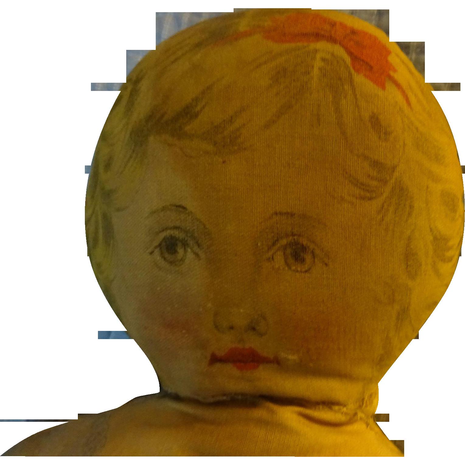 Art Fabric Cloth Doll