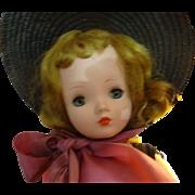 "Madame Alexander  ""Cissy""  Hard  Plastic"