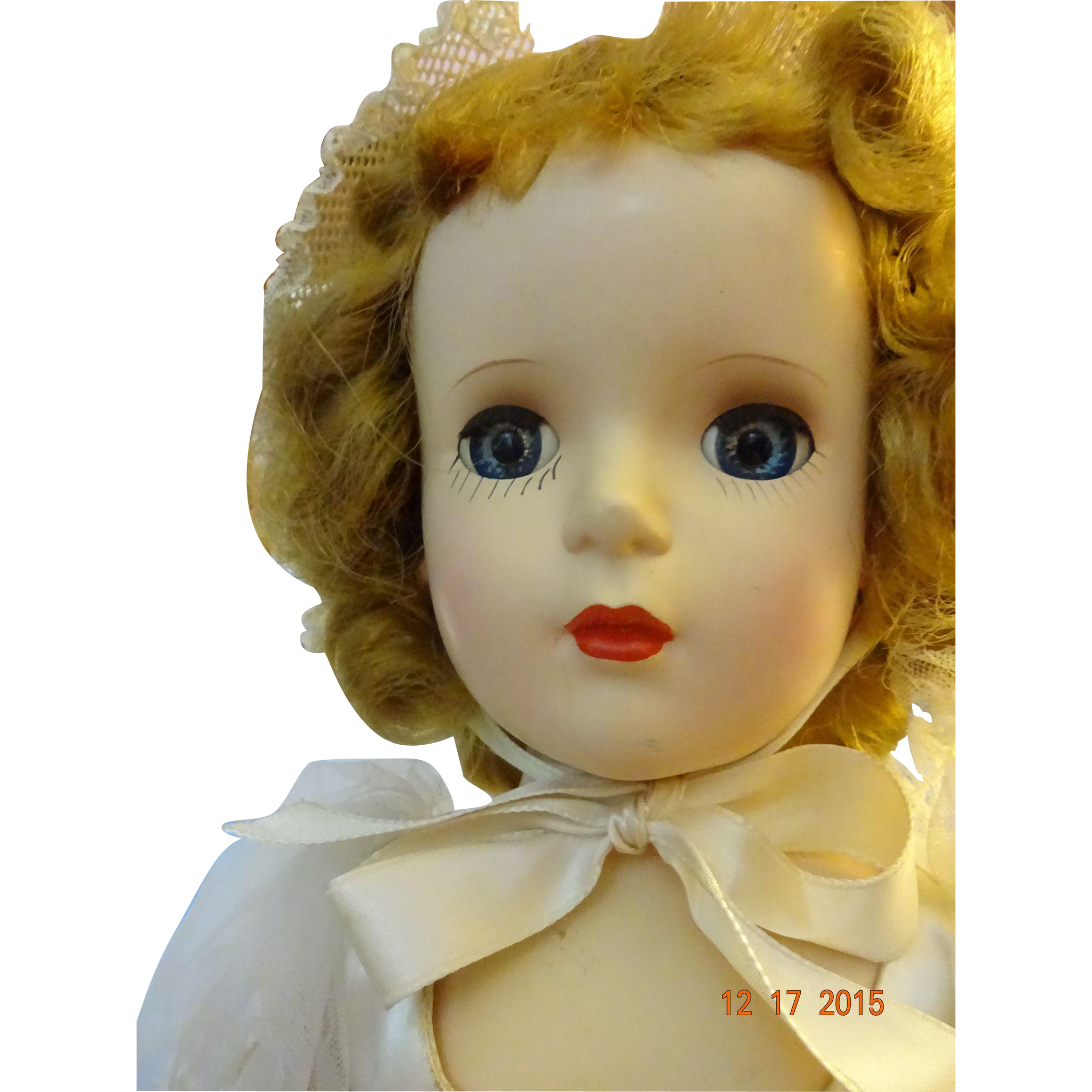 Madame Alexander  Margaret  Bride  Hard Plastic