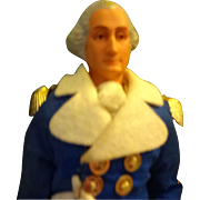 Vinyl George Washington  Doll