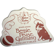 Name Plate  for Bessie Pease  Gutmann  Collectibles