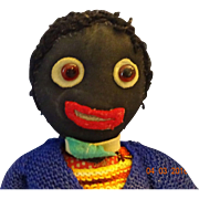 Vintage  Homemade  Golly Wog Doll