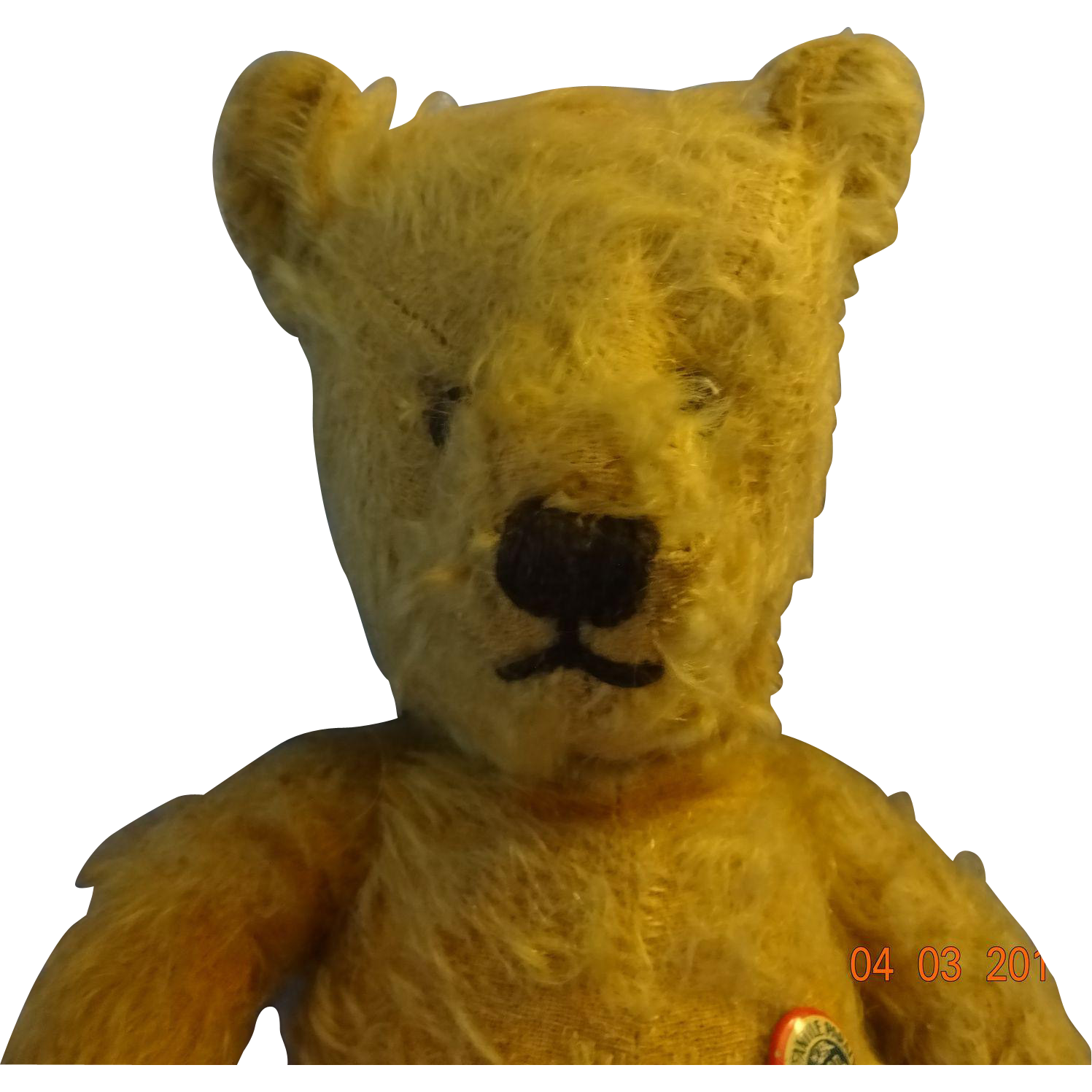 Very Old Teddy  Bear