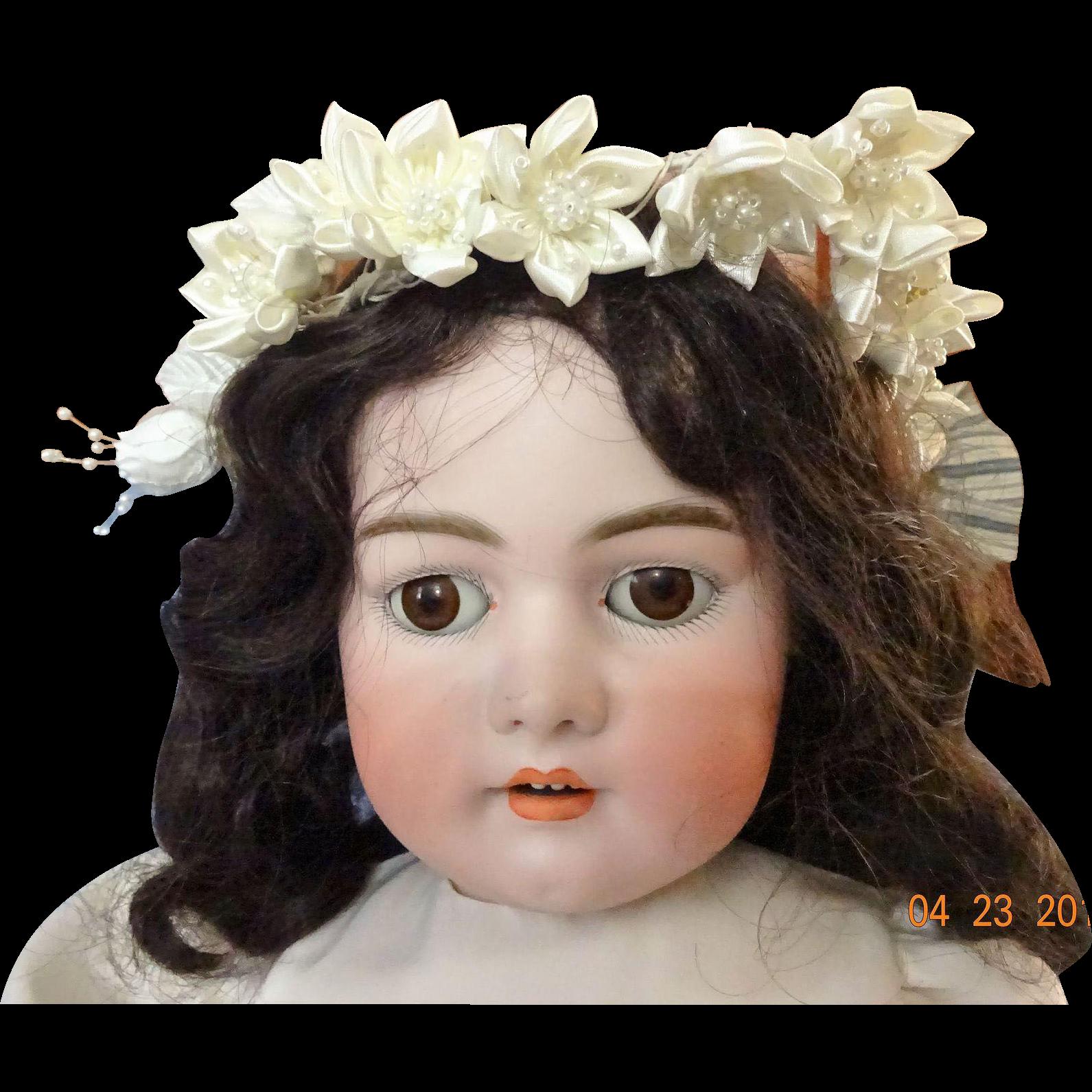 Antique German Bisque Doll